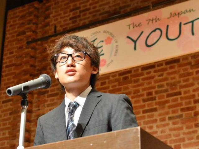 Nagamine defines the purpose of JCK Youth Forum (27/08/2016)