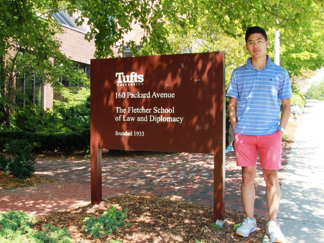 Former JCK Youth Forum leader Dong-hyeon Kim starts his study at Fletcher School (05/09/2016)