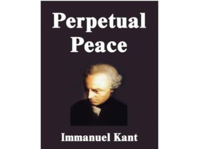 "Kant's ""Perpetual Peace"" presented to peacebuilding associates (02/02/2017)"