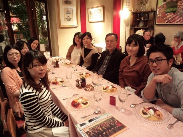 Former Hosei students hold a reunion (26/03/2017)