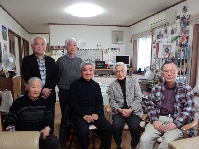 Kitamura School Children meet at the residence of Mr. and Mrs. Mihashi (03/12/2017)