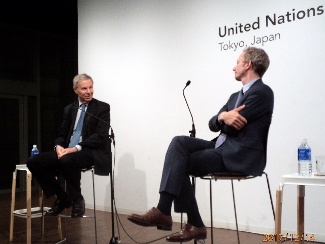 President of International Crisis Group Jean-Marie Guéhenno shares his views on the changing nature of conflict in conversation with Sebastian von Einsiedel, Director of the UNU Centre for Policy Research. (14/12/2017)