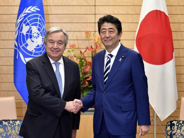 Visit of UN Secretary-General António Guterres (14/12/2017)