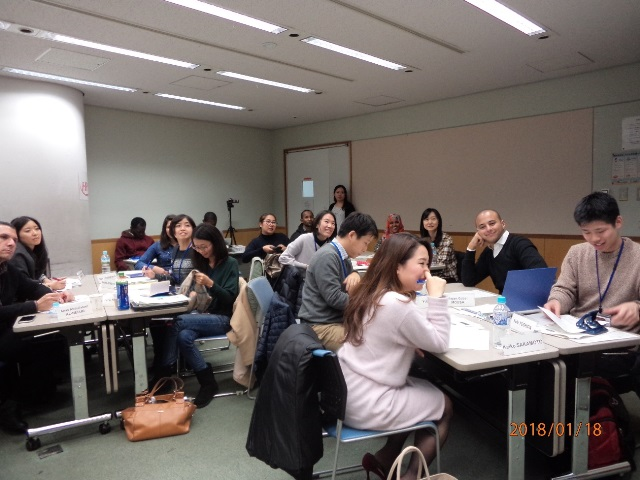 Peacebuilding challenges discussed by international and Japanese program associates (18/01/2018)