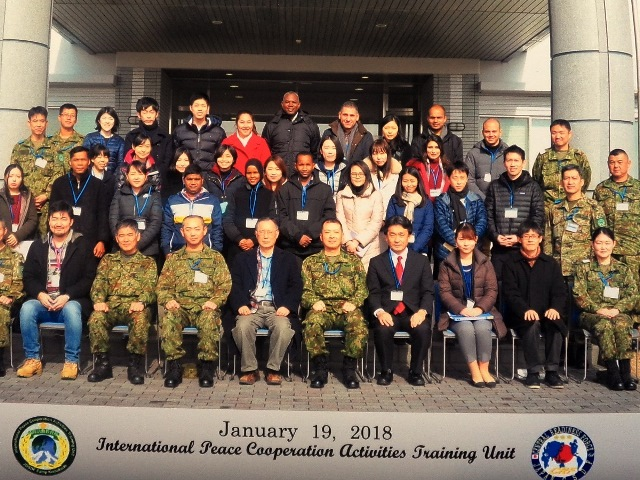 Visit to International Peace Cooperation Activities Training Unit (IPCAT) (19/01/2018)