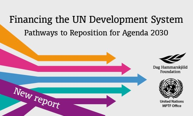 Repositioning of the UN Development System (22/01/2018)