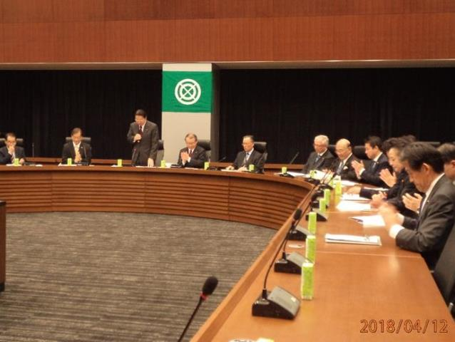 The Liberal Democratic Party Foreign Affairs Research Committee and the World Federation Japan National Diet Committee briefed about the current UN reform efforts. (11-12/04/2018)