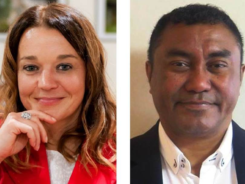 Ambassador Simona LESKOVAR of Slovenia and Counselor Nuno Alvares Moniz Marques ALVES of Timor-Leste will present challenges faced by their countries. (26/05/2018)
