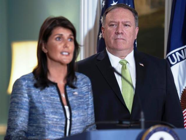 The United States Leaves the UN Human Rights Council. (19/06/2018)