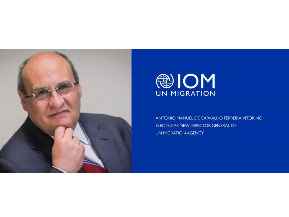 IOM's Special Council Session elects Portugal's Antonio Vitorino over Trump nominee as new IOM Director General. (29/06/2018)