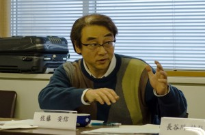 Professor Yasunobu Sato, Graduate Programme on Human Security, University of Tokyo