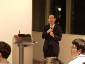 Professor Higashi responded to questions.