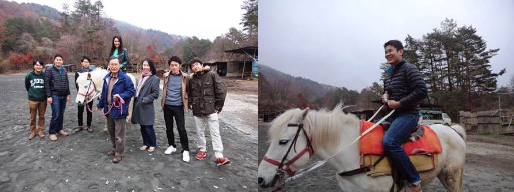 On the second day, the participants visited they visited a nearby horse ranch.