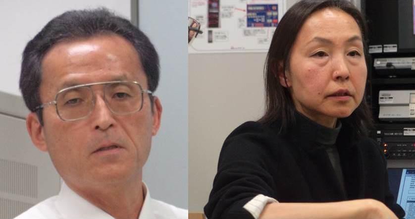 Ambassador Yoshitaka Hanada and Ms. Chika Saito