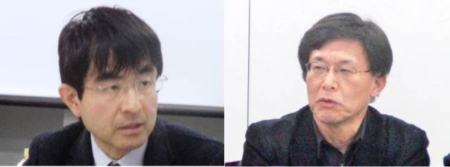 Mr. Hiroaki SHIGA and Professor Satoru KUROSAWA