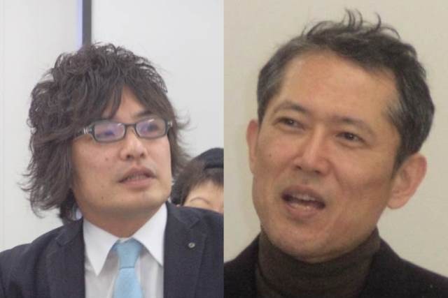 Mr. Masakuni MATSUMOTO and Professor Takaaki MIZUNO