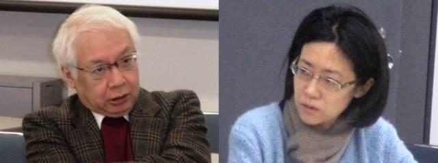 Mr. Keiichiro KOMATSU and Professor Naoko KUMAGAI