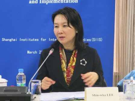 Professor Shin-wha Lee, Korea University and Member of the UN Secretary-General's Advisory Group on Peacebuilding Fund