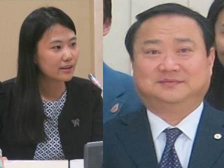Ms LI Xueyan, UN Association of China and Professor SHENG Hongsheng, Professor, Shanghai University of Political Science and Law