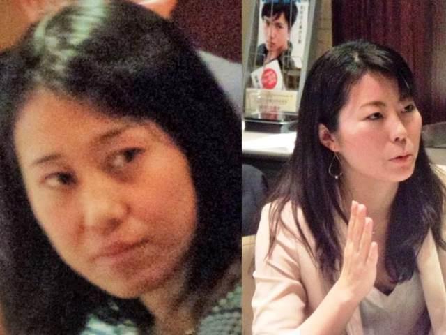 Ms. Mari Yamagishi, JICA and Ms. Sachi Kiraku, NHK