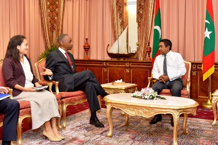 (Source: President's Office of Maldives, April 2016)