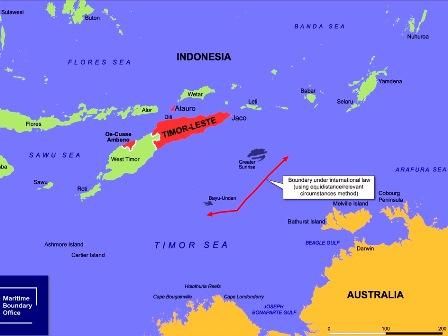 (Source: Timor-Leste Maritime Boundary Office)