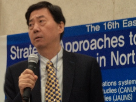 Ken INOUE, Senior Advisor on Democratic Governance of JICA